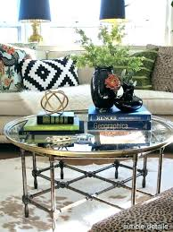 coffee table decor for design in