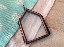 1 house double sided hinged glass frame