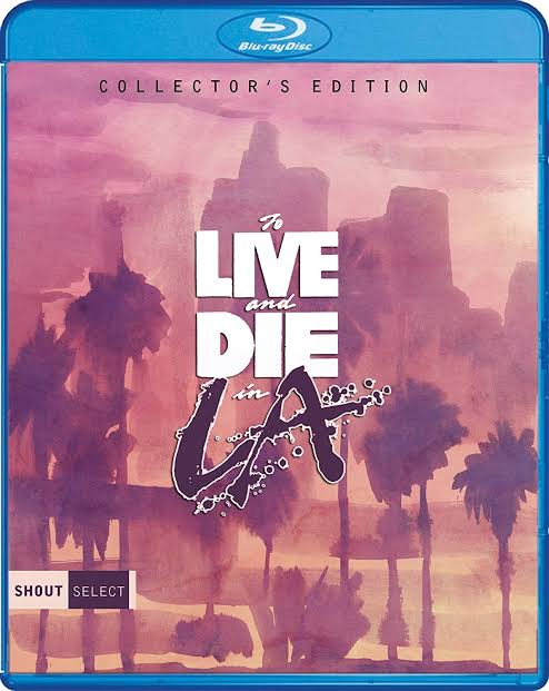 Image result for to live and die in la blu ray""