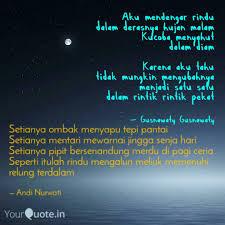 setianya ombak menyapu te quotes writings by andi nurwati