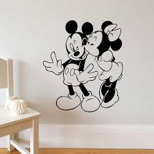 Mickey Mouse Disney Minnie 3d Window Decal Wall Sticker Home Decor Art Mural 2