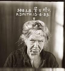 Agnes Smith (c.1923) Crime not listed.   Mug shots, Public domain images,  Public domain photos
