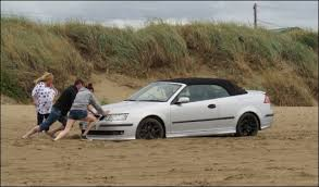 Image result for stuck in sand new jersey long beach island