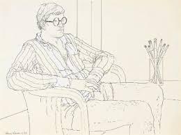David Hockney by Adrian George on artnet