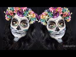 easy sugar skull makeup tutorial for