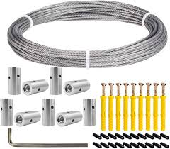 Blika Cable Trellis System For Climbing Plants Vines And Green Wall Wire Trellis Kits Stainless Steel Cable Kits For Brick Wall Fence Panels Wood Siding Amazon Ca Patio Lawn Garden