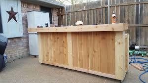 Cedar Fence Picket Old West Style Pool Bar Back Yard Poolside 8 Bar I Made My Mother N Law Cedar Fence Pickets Cedar Fence Fence Pickets