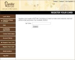 best registering vanilla visa gift card