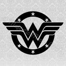 Wonder Woman Svg Vinyl Vinyl Decals Cricut Vinyl