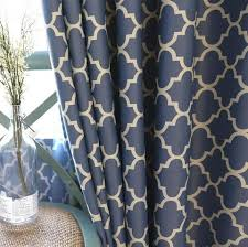 Curtains For Living Dining Room Bedroom 2 Colors Screens Printing Amer Stylomylo World