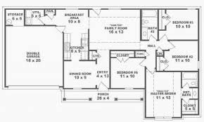 house layout awesome 4 bedroom e story