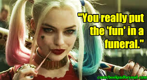 harley quinn quotes tell us about mr j s psychiatric