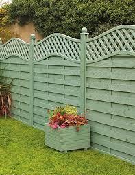 St Melior Fence Panel Painted In Sage Green Decorative Garden Trellis Garden Fence Paint Garden Fence Panels