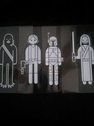 Free Star Wars Family Car Decals Please Read Description Before Bidding Accessories Listia Com Auctions For Free Stuff