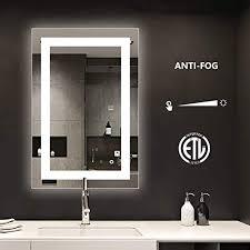 smartrun bathroom led backlit mirror
