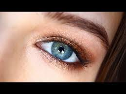 makeup for blue eyes a full face