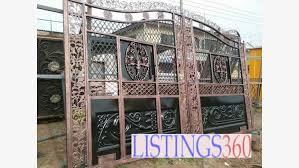 Fence Wall Gate Kumasi Metropolitan Kumasi Kumasi