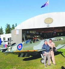 Pilot Ivan Campbell first Spitfire flight in 70 years - NZ Herald