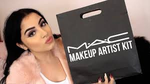 mac freelance makeup artist kit