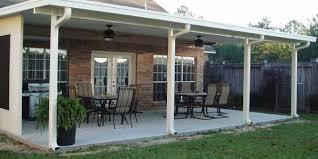 aluminum patio roofs