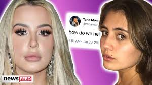 Tana Mongeau Desperately Trying To Help Lia Marie Johnson!!! - YouTube