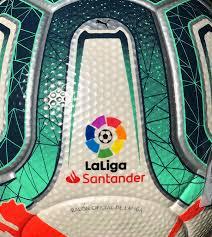PUMA La liga Santander 2019/20 Official Match Ball White Green Glimmer FIFA  Quality Pro: Amazon.it: Sport e tempo libero