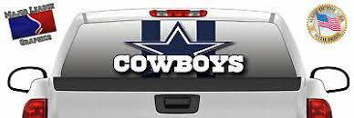 Dallas Cowboys Window Decal Graphic Sticker Nfl Car Truck Suv Van Choose Size