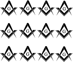 Amazon Com Owntheavenue Freemason Mason Masonic Pack Lot Vinyl Decal Sticker 2 Inches Each Black Vinyl Automotive