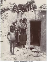 Adam Clark Vroman | Hopi Children and Young Mother, Walpi ...
