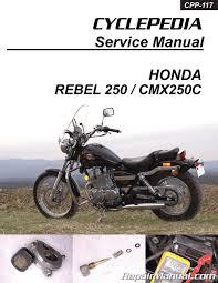 honda cmx250c rebel 250 cyclepedia