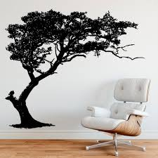 Tree Shade Wall Decal Design By Stickerbrand Item 312a Etsy