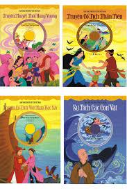 Bộ kho tàng truyện cổ tích Việt Nam (4 bộ, kèm CD) -DongA books