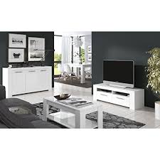 ansel 3 piece living room set in white