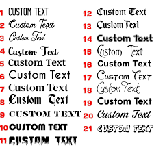 2x Custom Text Personalised Lettering Name Funny Car Glitter Vinyl Decal Sticker Archives Midweek Com