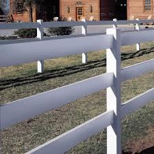Standard Rail 3 Rail Horse Fence Avinylfence Com