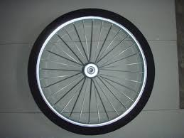 m26 41 26 inch semi pneumatic wheel