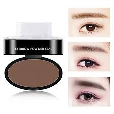 3 colors quick makeup eyebrow powder