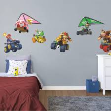 Mario Kart Collection Officially Licensed Nintendo Removable Wall Decals
