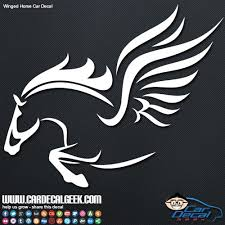 Car Window Decals Stickers Graphics Pegasus Winged Horse