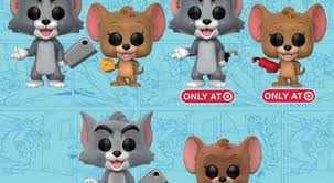 tom and jerry funko pops are cute but