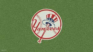 new york yankees logo gr background