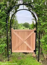 Cedar Fence Gate Plans Jaime Costiglio