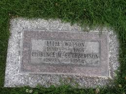 Effie Watson (1880-1965) - Find A Grave Memorial