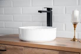 pedestal bathroom stock photos