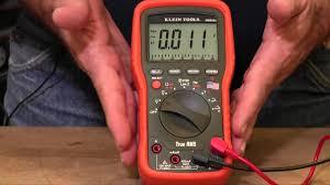 meter function lead alert fuse test