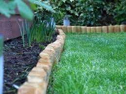 log edging for gardens soulfeed co