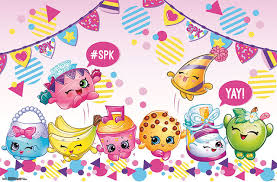 Shopkins Yay Poster Contemporary Kids Wall Decor By Trends International