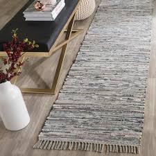safavieh rag rug gray 2 ft x 9 ft