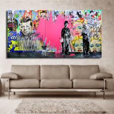 2020 1 Panel Pink Loves Wall Art Oil Paintings Canvas Painting Warhol Wall Art Pictures Cuadros Home Decoracion For Living Room No Framed From Wallstickerworld 23 82 Dhgate Com