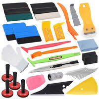Vinyl Decal Installation Kit Vehicle Application Fluid Squeegee Large Ebay
